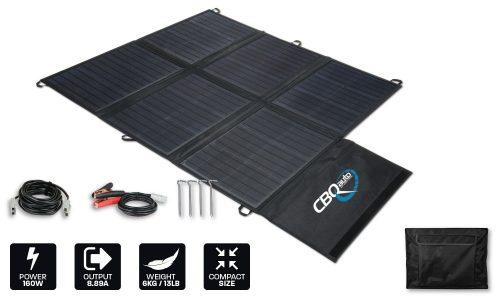 160w light weight solar blanket no regulator