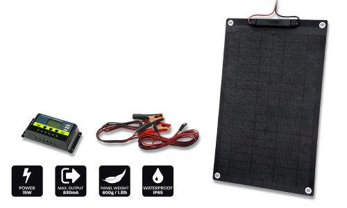 15w 12v trickle charger solar panel
