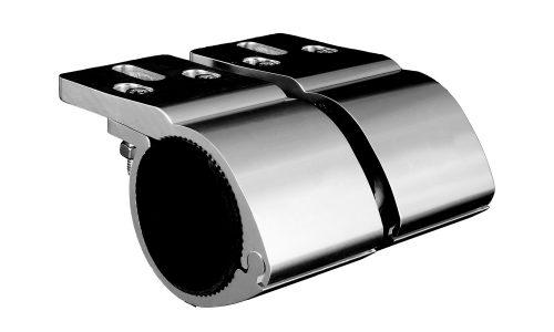 Bull Bar Bracket for LED Driving Light or Light Bar - Chrome