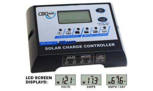 15A PWM Solar Controller