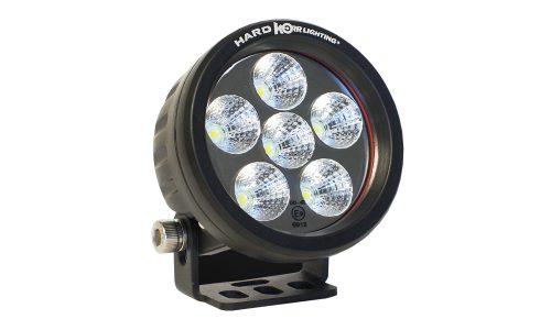 18W Round LED Work Light Flood Beam HKRF18