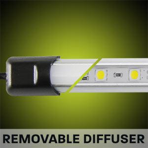 Hard Korr camping light bars have reinforced grommets to prevent wire breakage